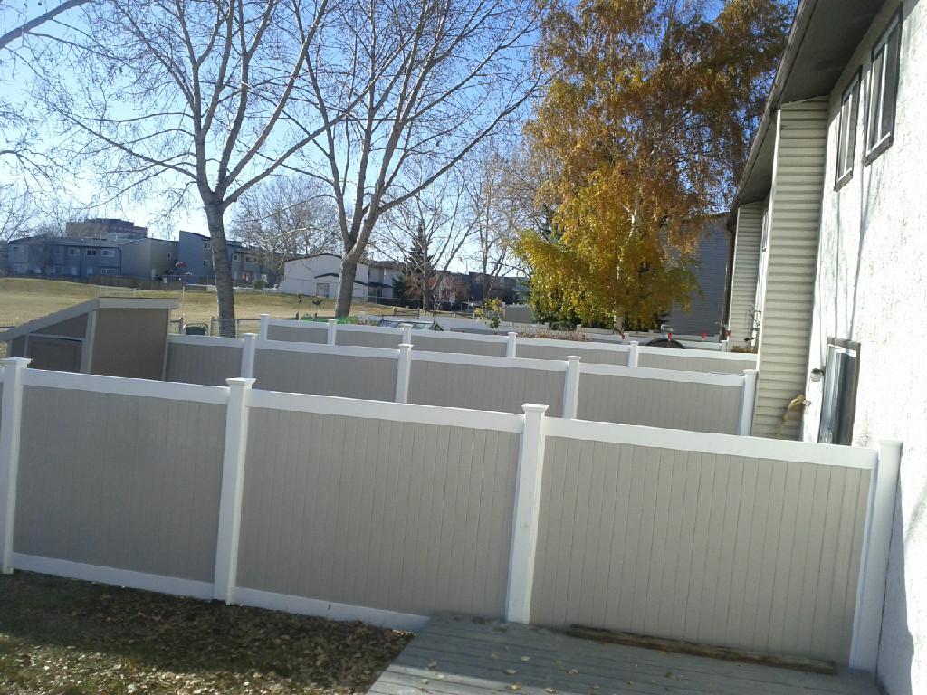 Vinyl Fence Calgary Companies Vinyl Fence Company Cross